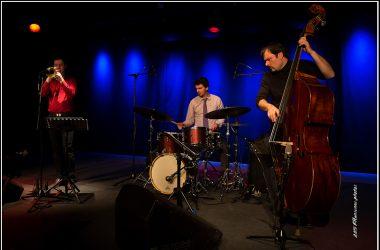 Jean-Pol Estiévenart Trio Jean-Paul Estiévenart (tp, flgh) Sam Gerstmans (cb) Antoine Pierre (dms)