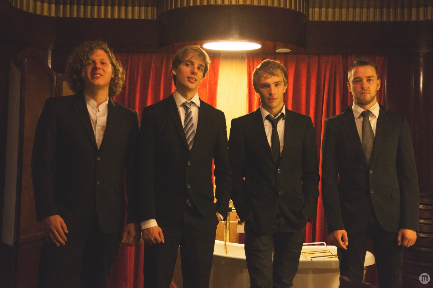 Four of a kind Guillaume Gillain (gt) Maxime Moyaerts (pn) Nicolas Puma (cb) Lucas Vanderputten (dms)